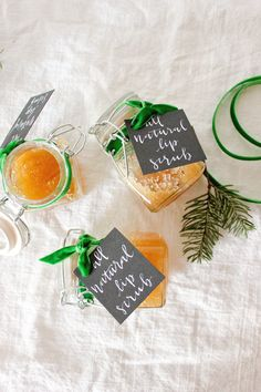 all natural lip scrub diy // 5 days of diy A Fabulous Fete