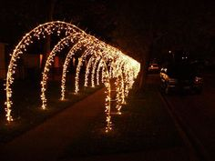 Driveway Arches   CHRISTMAS   Pinterest   Christmas, Christmas arch ...
