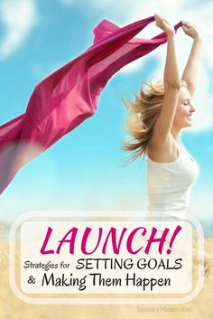 Are you ready to take charge of your goals and launch into life? Whether you're digging into a new goal or trying to achieve something that has stumped you for years, LAUNCH can help. This program is ideal for helping you take your dreams and turn them into goals...and ultimately your new reality!
