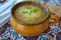 Winter vegetable soup - this recipe is a great way to use all those turnips, leeks, and parsnips that keep popping up in your CSA box. Growing Winter Vegetables, Winter Vegetable Soup, Vegetable Soup Recipes, Fast Metabolism Diet, Greek Recipes, Soups And Stews, Dinner, Eat, Cooking