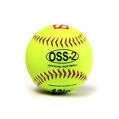 OSS-2 practice softball ball, soft touch, size 12, 1 dozen Ready for fast pitch softball baseballs photos...  http://homerun.co.business/product/oss-2-practice-softball-ball-soft-touch-size-12-1-dozen/