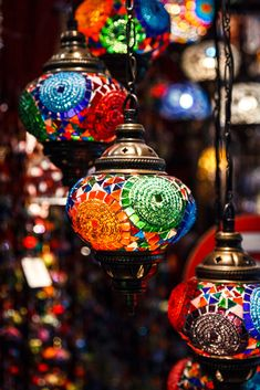 Turkish Lanterns, Turkish Lights, Turkish Lamps, Mediterranean Lamps, Galaxy Flowers, Grand Bazaar Istanbul, Decorated Jars, Home Room Design, Home Decor Furniture