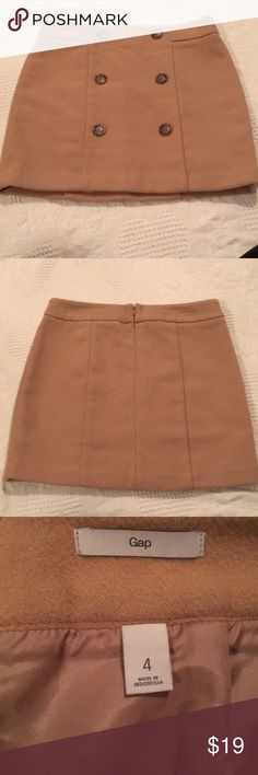 Gap Wool Blend Skirt Fully Lines Back Zipped Career Wool Blend 18 inches Long 16 inches Across Laying Flat Offers Accepted GAP Skirts