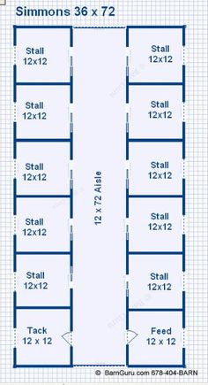 10 Stall Horse Barn Design Floor Plan - Georgia Horse barn Builder - Buy Plans For boarding, maybe? Could make with shipping containers. Horse Stalls, Horse Barns, Minecraft Horse Stables, Barn Layout, Horse Farm Layout, Horse Barn Designs, Horse Shelter, Horse Barn Plans, Goat Barn