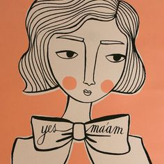 This illustrator was also at the Indie Craft Parade last weekend. I love her stuff.