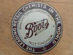'Boots the Chemist' Brown Glass Jar Old Signs, Chemist, Glass Jars, Signage, Miniatures, Symbols, Nottingham, History, Apothecary