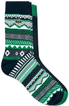 Lacoste Green Live Socks