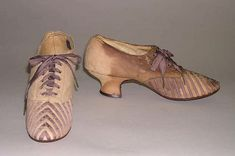 Shoes, 1880, American.