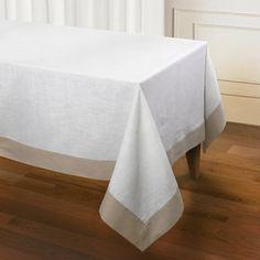 "Darby Home Co Sagan Linen Tablecloth Color: Java, Size: 60"" L x 104"" W x 1"" D"