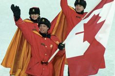 Past Canadian Olympic Winter Games flag-bearers