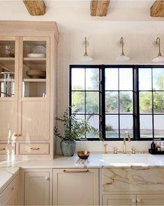 Creative Small kitchen renovation budget tips,Kitchen remodel store tricks and Kitchen layout design help. Home Decor Kitchen, Kitchen Interior, New Kitchen, Home Kitchens, Kitchen Ideas, Kitchen Inspiration, Kitchen Layout, Kitchen Modern, Kitchen Hacks