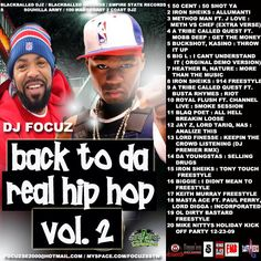 Download or stream Various Artists - Back To Da Real Hip Hop Vol. 2 Hosted by dj focuz mixtape