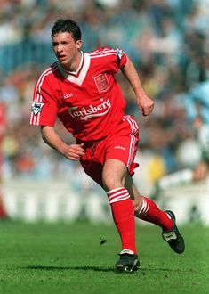 Liverpool player Robbie Fowler who scored on his birthday 9th April 2006 against Bolton Wanderers