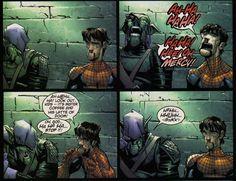 Normie e Pete    #spider-man #spiderman #greengoblin #osborn #normanosborn #peterparker #parker #marvel #comics #marvelcomics #quadrinhos #hqs #hq