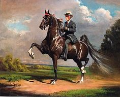 American Saddlebred Wing Commander by Helen Hayes