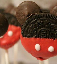 Recetas para niños: Cake pops de Mickey Mouse