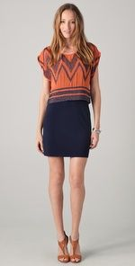 ADDISON Sheer Top Overlay Dress | SHOPBOP