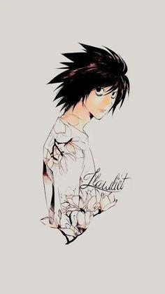 461 Best L Lawliet Images Death Note L Death Note Favorite