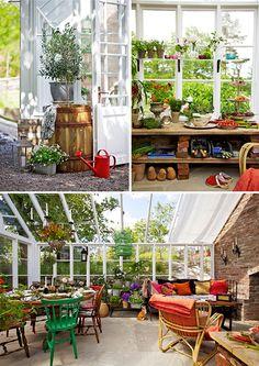 Solário, estufa, jardim de inverno...ideal para esse Domingo de Sol!