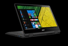 The Acer Spin 1 Full HD Touchscreen Laptop is fast and fun with an included stylus and Windows Ink so you can jot down a note or . Secure Digital, Laptop Repair, Disco Duro, New Laptops, Multi Touch, Bons Plans, Screen Replacement, Acer, Windows 10