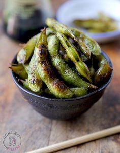Healthy Snack: Soy and Sesame Edamame Recipe - RecipeChart.com