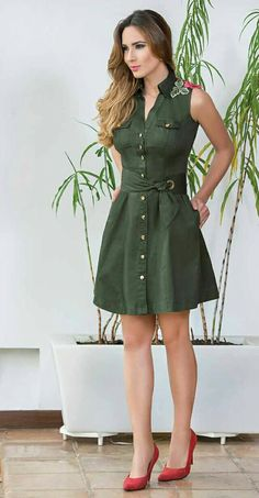 Pinned onto 2018 winter outfits Board in 2018 winter outfits Category Casual Dresses, Short Dresses, Casual Outfits, Fashion Dresses, Summer Dresses, Safari Dress, Fashion Corner, Red Carpet Dresses, African Dress