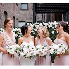Want more? Check out more styles at mghairandmakeup.com!  -  #throwbackthursday to last Saturday with our #beautifulbride @taybay 👰🏻 and her fab and fun #bridalparty 🎊 @wildescoutphoto.co did a great job capturing the joy and beauty of this #bridesquad 💕 #bridalhair #bridalmakeup #bridalpartyhair #bridalpartymakeup by our Rachel! #nycbride #nywedding #nychairstylist #nycmakeupartist    #Regram via @BkDEz7pHwt5