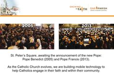 New Pope, Pope Benedict, Mobile Technology, Pope Francis, Announcement, Catholic, Join, Apps, Faith