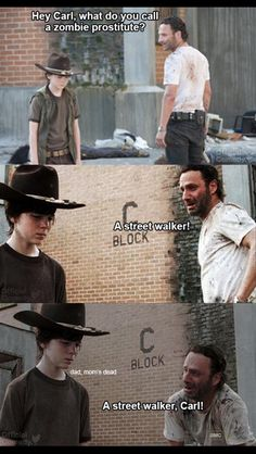 Dad jokes with Rick Grimes