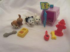 G1 Kenner 1992 Vintage Littlest Pet Shop Puppies Dog Carrier LPS