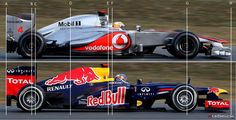 Side by side: Red Bull RB8 and McLaren MP4-27