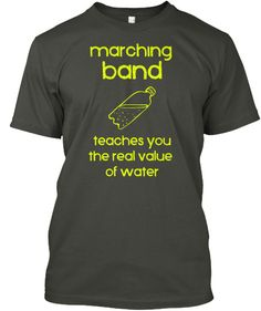 Show your Band Geek pride with this expressive t-shirt! Great for middle school/high school/college bands! ***Each item is printed on super soft premium material! Designed, Shipped, and Printed i Marching Band Quotes, Marching Band Shirts, Band Mom Shirts, High School Band, Middle School, Band Problems, Flute Problems, Band Jokes, Drumline