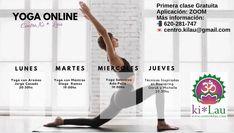 Buen día!🌞 Os comparto la Agenda Online de Yoga, la aplicación es ZOOM🥰 . Hoy es martes! Recordar que tenemos clase de Yoga con Mantras con Diego Ramos a las 19:00hs 🧘♀️ 🧘♂️. Te apetece probar? Pídenos más información al 📲620-281-747 💌centro.kilau@gmail.com . #agendaonline #centrokilau #agendaonline🤳 #onlineagenda #agendayoga #agendayoga2020 #yogagenda #yoga #yogagalicia #yogapractice #yogainspiration #yogalife #yogaeveryday #yogatodoslosdias #clasesdeyoga #clasesdeyogaonline…