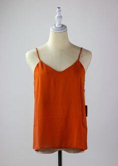Orange You Glad it's Spring Camisole Orange You Glad, Girl Gang, Outfit Goals, All The Colors, Criss Cross, Snug, Athletic Tank Tops, Camisole Top, Spring