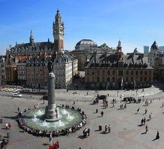Dankzij agirlaroundtheglobe nu ook inspiratie voor je Lille trip. Ken jij deze stad? Lilletourism
