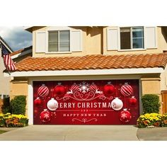 Don't be fooled by the companies that are trying to copy their garage door decors. Their quality of artwork, materials, print, and ease of installation cannot be matched. Purchase the one and only Ornaments in Snow Garage Door Mural décor. Garage Door Christmas Decorations, Garage Door Decor, Xmas Decorations, Garage Doors, Outdoor Decorations, Car Garage, Elf Christmas Tree, Merry Christmas And Happy New Year, Christmas Ideas