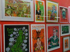 """Visita la exposición """"SUBTE"""" creada por el Dr. Alderete en la estación #BellasArtes #L8"""