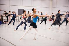 A Day in the Life of Misty Copeland: Wall Street Journal: CENTER STAGE | Copeland with fellow American Ballet Theatre dancers at the Kennedy Center for...