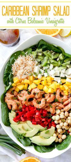 ... coconut, roasted macadamia nuts and Island marinated shrimp. #shrimp #
