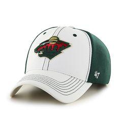 Minnesota Wild Cooler MVP White 47 Brand Adjustable Hat