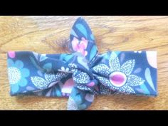 How To Make Simple Designer Baby Headbands - DIY Style Tutorial - Guidecentral - YouTube