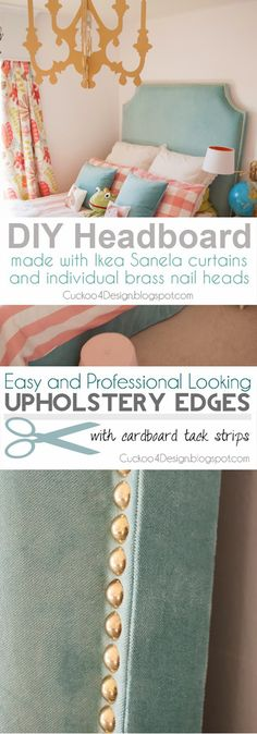 How to Upholster A Headboard