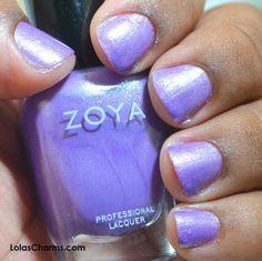 Review: Zoya Hudson - #zoya #hudson #nailswatch #nailareview #purplecolor #purplenails #lolascharms - bellashoot.com
