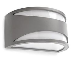 Leds-C4 05 – 9735 – 34 m1-applique Napoli 1 x E27 Max 23 W Grey >>> Click image for more details. #OutdoorLighting