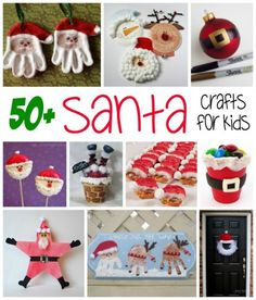 If you and the kids are looking for some good old fashioned fun Santa crafts, they are going to love these ideas! Plenty of projects to keep the kids busy!
