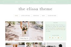 Elissa Wordpress Genesis Child Theme by dinosaurstew on @creativemarket