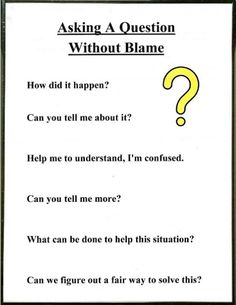 Lorinda-Character Education: Be a Detective & Asking A ? Without Blame; Conflict Resolution- This is a great resource for teaching character education in terms of conflict resolution in the classroom. Behavior Management, Classroom Management, Conflict Management, Relation D Aide, Education Positive, Positive Behavior, Physical Education, Higher Education, School Social Work