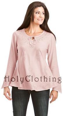 Empire Waist Gypsy Embroidered Boho Top Shirt Blouse | eBay