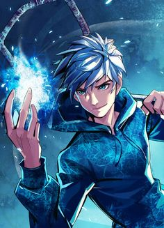 Jack Frost, Rise of the Guardians, art