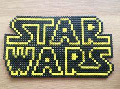 Star Wars Logo Sprite Perler Hama Perlen von ElisPixelCraft